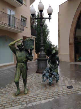 La farola Dalí en Cambrils